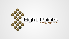 Alphago logo design, Solar energy logo design, Green energy logo