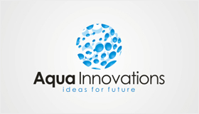 Aqua energy facilities logo design, Aqua logo