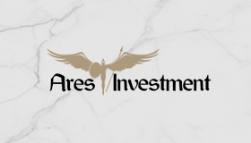 Ares logo, Financial logo, Investment logo