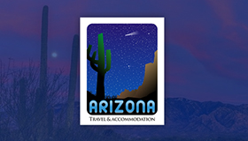 Arizona logo, Arizona Travel logo design