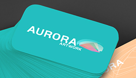 Aurora logo design, Photography logo