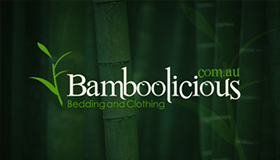 Bedding, clothing and homewares made from bamboo, Bamboo logo design