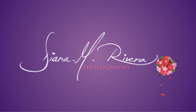 Wedding photojournalism logo design, Signature and Bouquet logo