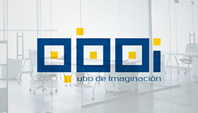 Brick logo design, Innovation room logo