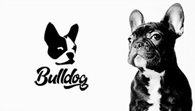 Bulldog logo, Mobile advertisement logo