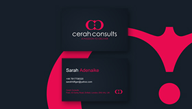Personal fashion consultant logo design