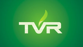 TV Channel logo, TVR Poland logo design
