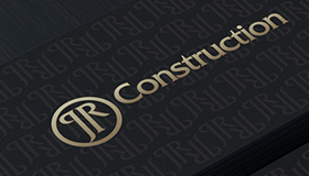 Construction logo, Remodeling logo design, JR logo
