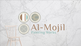 Wallpaper and wall painting logo design