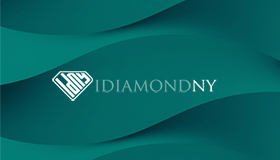 Gold & diamond jewelry logo design, Diamond logo