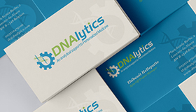 An analytical support to personalized medicine, DNA logo