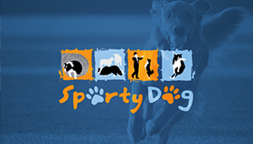 Dogs logo, dog´s sports logo design