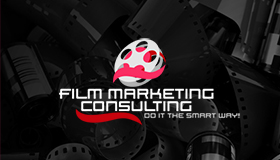 film logo, film scroll logo