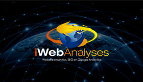 Web analyses logo, SEO logo design