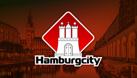 hamburg city logo design, Hamburg city logo