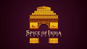 indian food logo, indian logo design