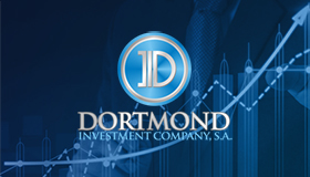investment logo design, Dortmond logo