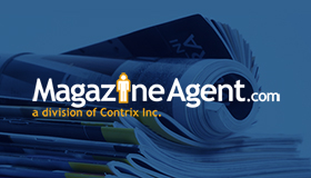 magazine logo, magazine subscription logo