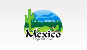 Mexico travel guide logo design, Cactus logo