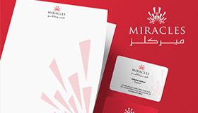 eCommerce industry logo design, Miracle logo