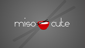 Homemade baby items logo design, Miso soup logo