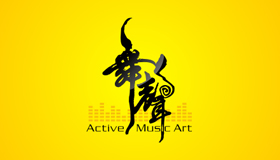 music dance logo design, dance logo