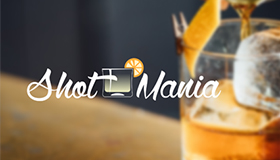 shot drinks logo, drinks logo