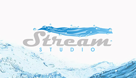 stream logo, water logo design, water flow logo