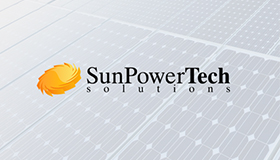 Solar equipment logo, Sun power logo, Solar logo design
