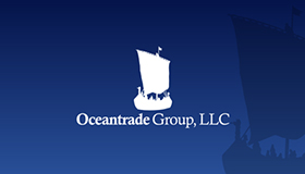 trade logo, ocean logo, ship logo design