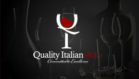 Italian wine import & export logo, Wine logo design
