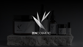 Cosmetic & skin care logo, Zen logo design
